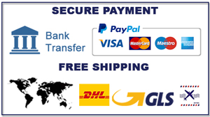 SECURE PAYMENT  &  FREE SHIPPING WORLDWIDE